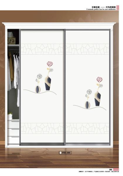 皮雕移门专题 UV 打印 小软包 浮雕软包 皮雕 玫瑰花 花瓶 马赛克 简欧衣柜 现代简约 XRB-080
