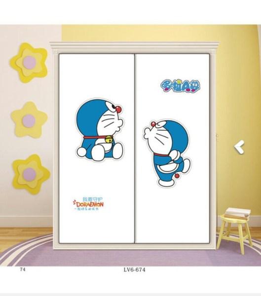儿童房18-1 卡通 动漫 动画片 儿童 蓝猫 叮当猫 机器猫 多啦A梦 英文 雕刻 路径
