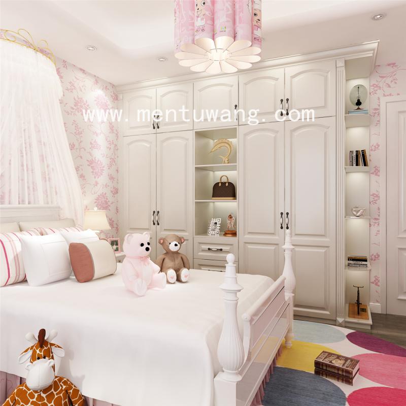 3D06301-衣柜 (4)  卧室效果图下载,衣柜门效果图下载,全屋定制效果图,定制家居效果图,高清效果图印刷图下载
